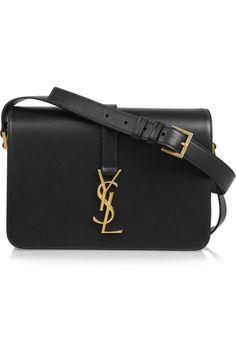 SAINT LAURENT Monogramme Sac Université leather shoulder bag $2,150