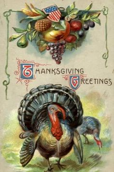 **************************************************************************** Graphics courtesy of Vintage Holiday Crafts. Thanksgiving Greeting Cards, Thanksgiving Blessings, Vintage Thanksgiving, Thanksgiving Traditions, Thanksgiving Crafts, Vintage Holiday, Thanksgiving Decorations, Holiday Crafts, Happy Thanksgiving