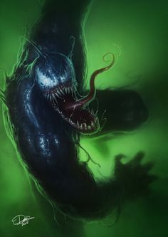 #Venom #Fan #Art. (Venom) By: Disse86. (THE * 5 * STÅR * ÅWARD * OF * MAJOR ÅWESOMENESS!!!™)