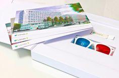 Lände3 Mailing mit 'echten' 3D Visuals Property Development, Real Estate Development, Press Kits, Direct Mail, New Media, 3d, Design, Visual Communication, Creative