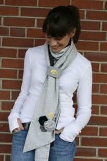 Love this Hawkeye Scarf!