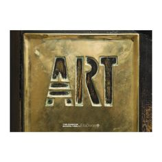 """Charles Rennie Mackintosh created a specific typeface for The Glasgow School of Art to be used on door panels and to number studios. The central swing doors to the Mackintosh building are adorned with brass panels stating """"Art"""" and """"School"""""""