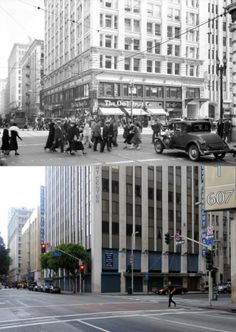W. I. Hollingsworth Building, southeast corner of Sixth and Hill Streets, 1932-2014