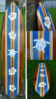 Decorative Surf Board-maybe as headboard for haydens bed
