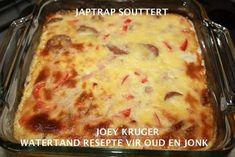 Quiche Recipes, Tart Recipes, Appetizer Recipes, Baking Recipes, South African Dishes, South African Recipes, Ethnic Recipes, Savoury Slice, Savoury Tarts