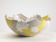 British artist Frances Priest was featured at Tansey Contemporary's SOFA 2015. Priest's work explores languages of ornament in decorative art and design.