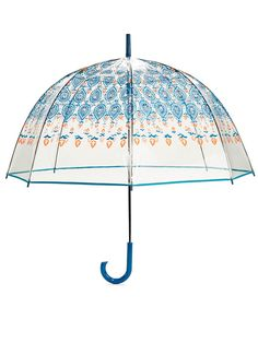 This global-inspired umbrella has a unique pattern, so you'll stand out in the best way possible!  Marrakesh Bubble Umbrella, $44, VeraBradley.com.   - Seventeen.com