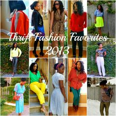 Thrift Fashion. Love these looks. Why can't I find great looks at the thrift store??