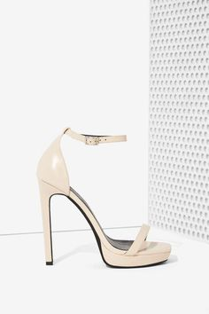 Jeffrey Campbell Strides Leather Heel | Shop Shoes at Nasty Gal