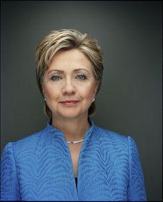Presidential candidate Democrat H. Clinton