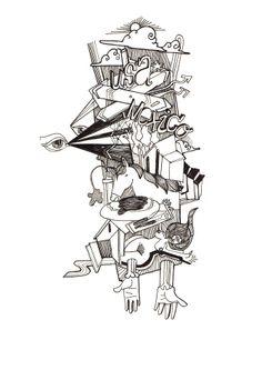 Visión. Illustration, Art, Art Background, Illustrations, Kunst, Art Education