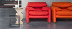Image result for Maralunga red seat
