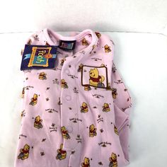 100 Acre Collection Winnie The Pooh Winter Bears Pink Baby Girls 18 Months Tags #PINK #Everyday