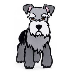 Schnauzer Pop-Out! from Marc Tetro