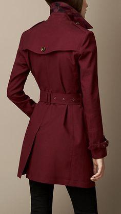 Trench-coat en coton extensible imperméable | Burberry