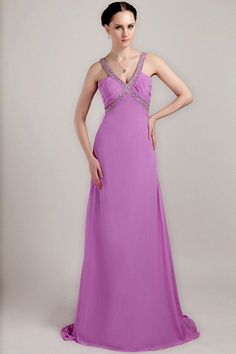 Weekly Special Product: Chiffon A-Line V-Ausschnitt Homecoming Kleid ma1723 - Order Link: http://www.modeabendkleider.de/chiffon-a-line-v-ausschnitt-homecoming-kleid-ma1723.html - Farbe: Purple; Silhouette: A-Line; Ausschnitt: V-Ausschnitt; Verzierungen: