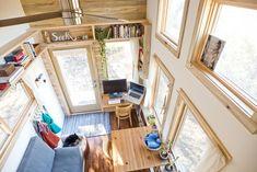 Ingeniously Designed Small House on Wheels by Alek Lisefski