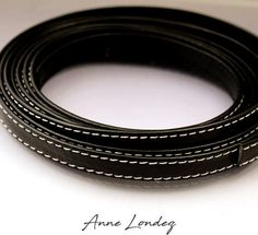 1 ft Black leather strap 10x2mm Black flat leather cord Black leather string Black leather strip BLFLAT10X2 Black Leather Flats, Leather Cord, Leather And Lace, Stitching Leather, Leather Necklace, Bracelets, Stuff To Buy, Jewelry, Etsy