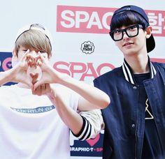 #EXO #chanbaek #baekyeol