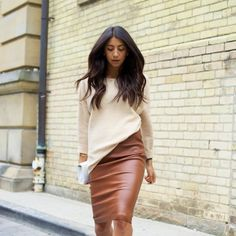Showing you how to wear the classic pencil skirt