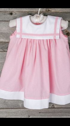 Toddler Dress, Toddler Outfits, Kids Outfits, Kids Frocks, Frocks For Girls, Baby Girl Dress Patterns, Baby Girl Dresses, Little Girl Outfits, Little Girl Dresses