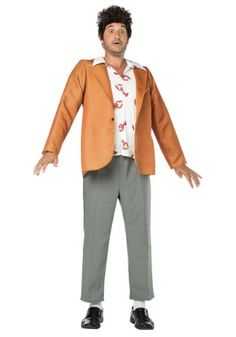 Hey, buddy. If you're always popping in to your friend's apartment and borrowing some food, you might just be a Kramer. Get this Seinfeld Kramer Adult Costume and you'll be set!
