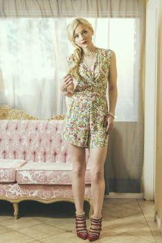 Emily Kinney for Nikki Rich Spring 2015