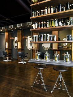 Industrial hair salon