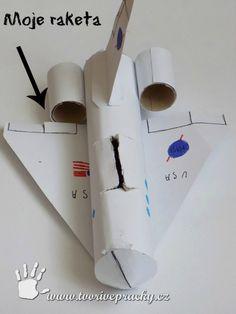 Raketa z papíru