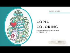 Copic Marker Coloring - BoughWowWow by Power Poppy Copic Markers, Digital Stamps, Clear Stamps, Inspire Me, Mittens, Poppy, Cards, Coloring, Blog