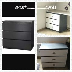1000 ideas about commode malm on pinterest - Relooker une commode ikea ...