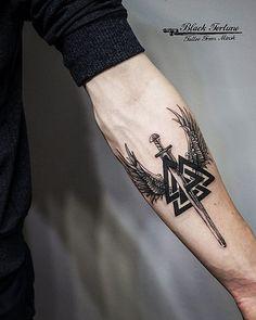 tattoos for guys * tattoos for women + tattoos for women small + tattoos for moms with kids + tattoos for guys + tattoos for women meaningful + tattoos with meaning + tattoos on black women + tattoos for daughters Forearm Band Tattoos, Leg Tattoos, Body Art Tattoos, Tribal Tattoos, Small Tattoos, Sleeve Tattoos, Mens Forearm Tattoos Small, Tatoos, Norse Tattoo