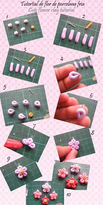 Air Dry Clay Tutorials: Quick and Easy Looped Flower