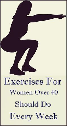 Exercises For Women Over 40 Should Do Every Week#exercise#woman#fitness