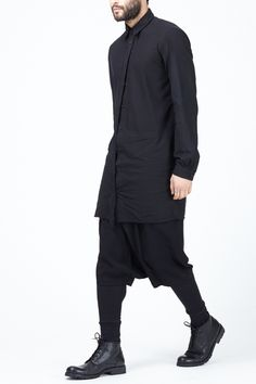 Totokaelo MAN - Alexandre Plokhov Black Long Johns