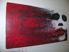 A wrench in the gears   The Joker  Heath Ledger  Batman  By StrangelyDrawn
