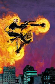 Vengeance is a Family Business in Ed Brisson's Ghost Rider Ms Marvel, Marvel Comic Universe, Marvel Comics Art, Comics Universe, Marvel Heroes, Captain Marvel, Ghost Rider Johnny Blaze, Ghost Rider Marvel, Marvel Comic Character