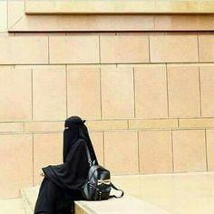Hijab Niqab, Hijab Chic, Hijab Outfit, Muslim Girls, Muslim Women, Niqab Fashion, Fashion Muslimah, Muslimah Wedding Dress, Animated Love Images