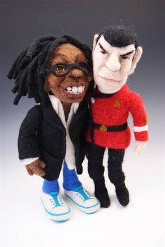 Whoopi & Spock together again! by feltalive, via Flickr