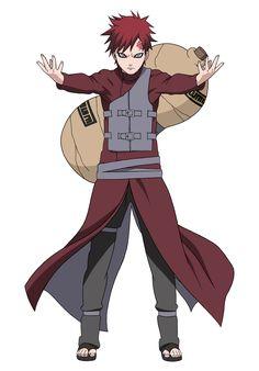 Sabaku no Gaara - Naruto Shippuden Naruto Gaara, Anime Naruto, Sasuke Sakura, Itachi, Hinata, Ino Naruto Shippuden, Shikamaru, Manga Anime, Sasunaru