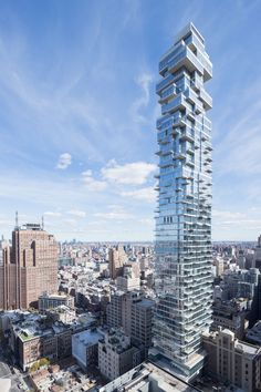 Completed in 2017 in New York, United States. Images by Iwan Baan            . The high-rise tower is an important ingredient within the contemporary city. However, towers have come to be defined solely by their height and, as a...