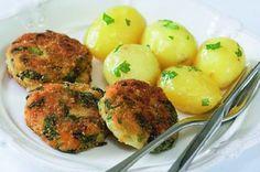 Zeleninový řízek   Apetitonline.cz Tasty Kitchen, Veg Recipes, Potato Salad, Potatoes, Ethnic Recipes, Vegetarian Recipes, Plant Based Recipes, Potato