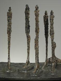 The Forest, Alberto Giacometti (1950)
