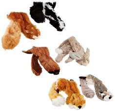 Skineez SKINNEEEZ Skinneez No Stuffing Dog Toy Set * Find out more details by clicking the image : Dog Toys