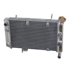 40mm 2 core aluminum radiator YAMAHA GRIZZLY 400 450 2003-2010 2009 2008 2007