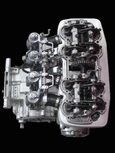 Single Over Head Camshaft Engine ( When click gif; movable; do it. )