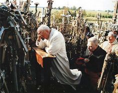 Pope John Paul II - Blessed John Paul visited here in 1993 and a monastery was built near here