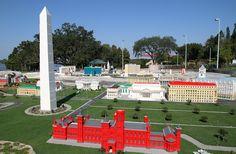 Washington Monument at Florida Legoland