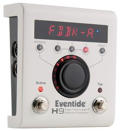 Eventide H9 - is interesting.. its essentially something that lets you play a plugin.. one of Eventides.. and they have some of the best in the business in a few categories. Again I think of this as one of those peddles you get to make sure you have a lot of bases covered.