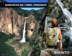 Las Barrancas del Cobre, o Sierra Tarahumara, cubren una extensión de 65,000 km2 del gran macizo montañoso de la Sierra Madre Occidental, el territorio más agreste y accidentado del país.